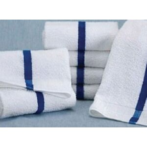 100% Cotton Pool Towel- White 24X48